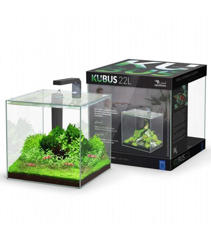 Aquário KUBUS 22L + LED + Filtro