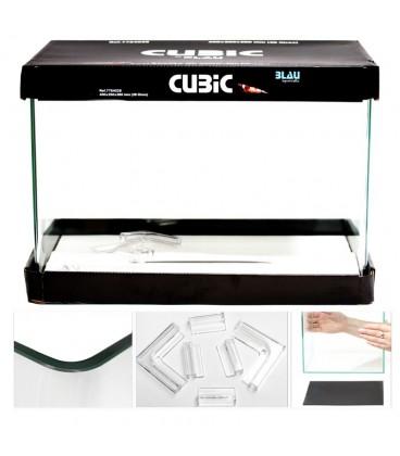 Aquário Cubic 28L 40x25x28 cm - BLAU